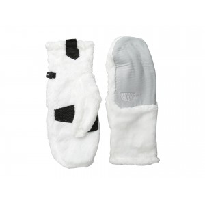 Denali Thermal Mitt TNF White/High Rise Grey Heather (Prior Season)