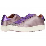 Low Top Sneaker with Glitter/Satin Mauve/Lilac