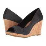 Stella Wedge Black Denim