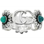 GG Marmont Ring with Flower Motif