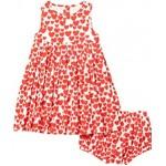 All Over Hearts Sleeveless Dress (Infant)