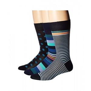 3-Pack Stripes & Dots Socks