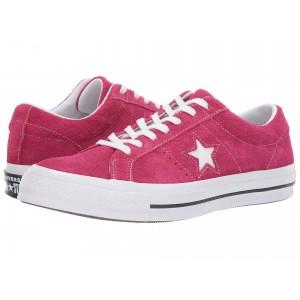 One Star - Ox Pink Pop/White/White