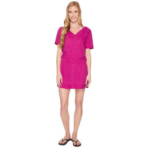 Hooded Cover-Up Very Fuchsia