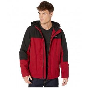 Rain Shell Jacket w/ Fleece Lining Red/Black