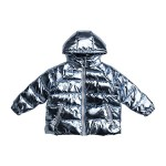 Oversize Foiled Metallic Puffer (Toddler/Little Kids/Big Kids)