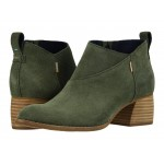 Leilani Dusty Olive Suede