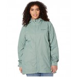 Plus Size Switchback Lined Long Jacket