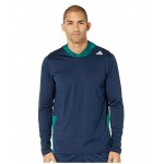 Back To School Training Hoodie Collegiate Navy/Noble Green/White