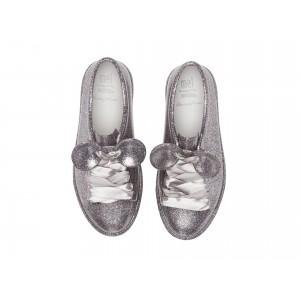 Mel Be + Disney (Little Kid/Big Kid) Silver Glitter
