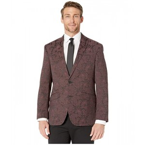 Patterned Evening Jacket with Stretch