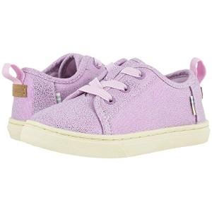 TOMS Kids Lenny Elastic (Toddleru002FLittle Kid) Lavender Iridescent Droplets