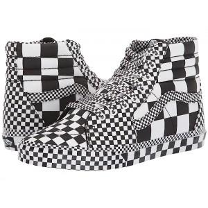 SK8-Hi (All Over Checkerboard) Black/True White