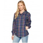 Shelley Midweight Flannel Long Sleeve Arctic Navy