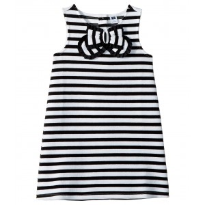 Ottoman Dress (Toddler/Little Kids/Big Kids) Stripe