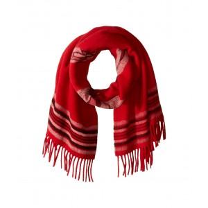 Chimayo Blanket Scarf Red/Black/Cream