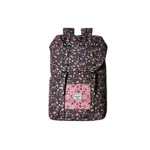 Retreat Youth (Little Kids/Big Kids) Multi Ditsy Floral Black/Flamingo Pink