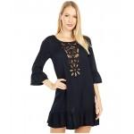 Roxy Goldy Soul Long Sleeve Dress Cover-Up True Black