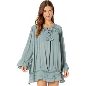Under The Moon Long Sleeve Summer Dress