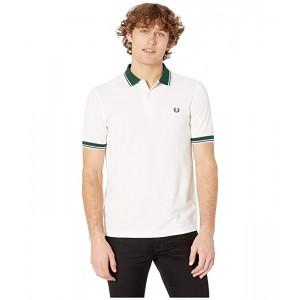 Contrast Rib Pique Shirt