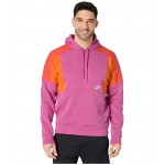 Nike NSW Hoodie Pullover Color Block Active Fuchsia/Magma Orange/White