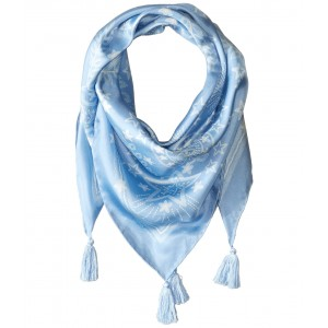 Celestial Silk Square Blue