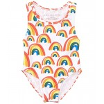 Stella McCartney Kids Rainbow and Hearts Swimsuit (Infant) Multi