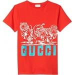 Cotton Jersey w/ Print T-Shirt (Little Kids/Big Kids)