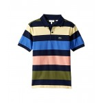 Colorful Striped Pique Polo (Infant/Toddler/Little Kids/Big Kids)