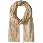 Crinkled Cotton Oblong Scarf