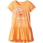 Ruffled Tiger Dress (Big Kids)
