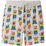 Rainbow Monsters Sweatshorts (Toddler/Little Kids/Big Kids)