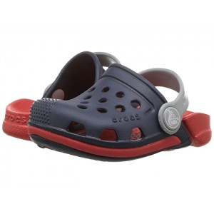 Electro III Clog (Toddler/Little Kid) Navy/Flame