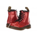 1460 Patent Glitter Toddler Brooklee Boot (Toddler) Red Multi Coated Glitter