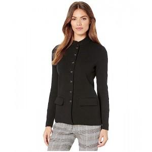 Cotton-Blend Officer's Jacket