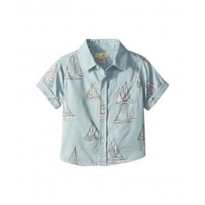 Sailboat Shirt (Infant) Blue