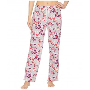 Printed Long Pants Abstract Floral
