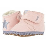 Cuna (Infant/Toddler) Pink Microsuede/Star Applique
