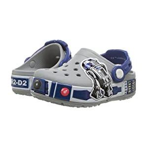 Crocband R2D2 Lights Clog (Toddler/Little Kid) Light Grey