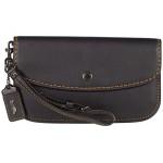 COACH Glovetan Leather Clutch Bp/Black
