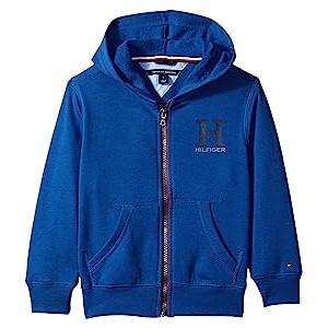 Matt Logo Hoodie (Toddler/Little Kids) Monaco Blue