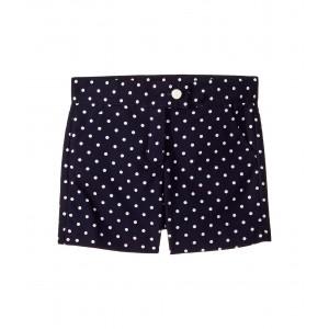 Polka Dot Shorts (Toddler/Little Kids/Big Kids) Navy Polka Dot