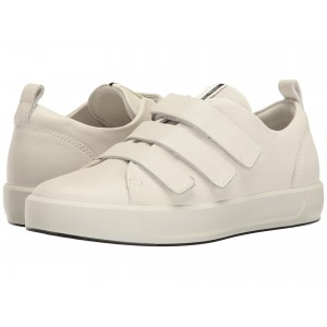 Soft 8 Strap Sneaker White Cow Leather