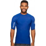 Lido Solid Short Sleeve Camper Blue