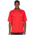 Collegiate Perfect Cast Polo Top Georgia/Bright Red
