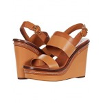 Tory Burch Selby 120 mm Wedge Elba Camello/Ambra