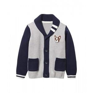 Varsity Shawl Collar Sweater (Toddler/Little Kids/Big Kids)