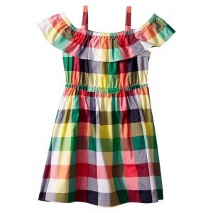 Sleeveless Plaid Dress (Toddler/Little Kids/Big Kids) Multi Plaid