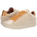 C101 Low Top Sneaker - All Over Shearling Natural