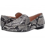 Harper Beadchain Loafer Natural Printed Leather